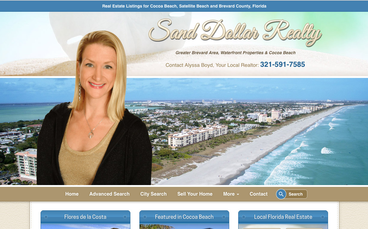 Sand Dollar Realty Alyssa Boyd Serving Brevard Fl